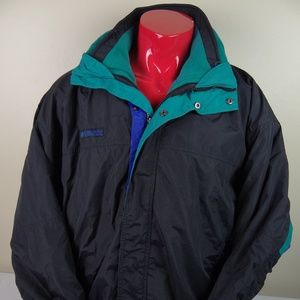 Vintage 90s Columbia Bugaboo 3 in 1 Fleece Jacket